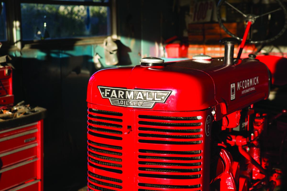 Image of a Farmall Diesel