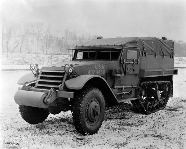 Image of an IHC Half-Track