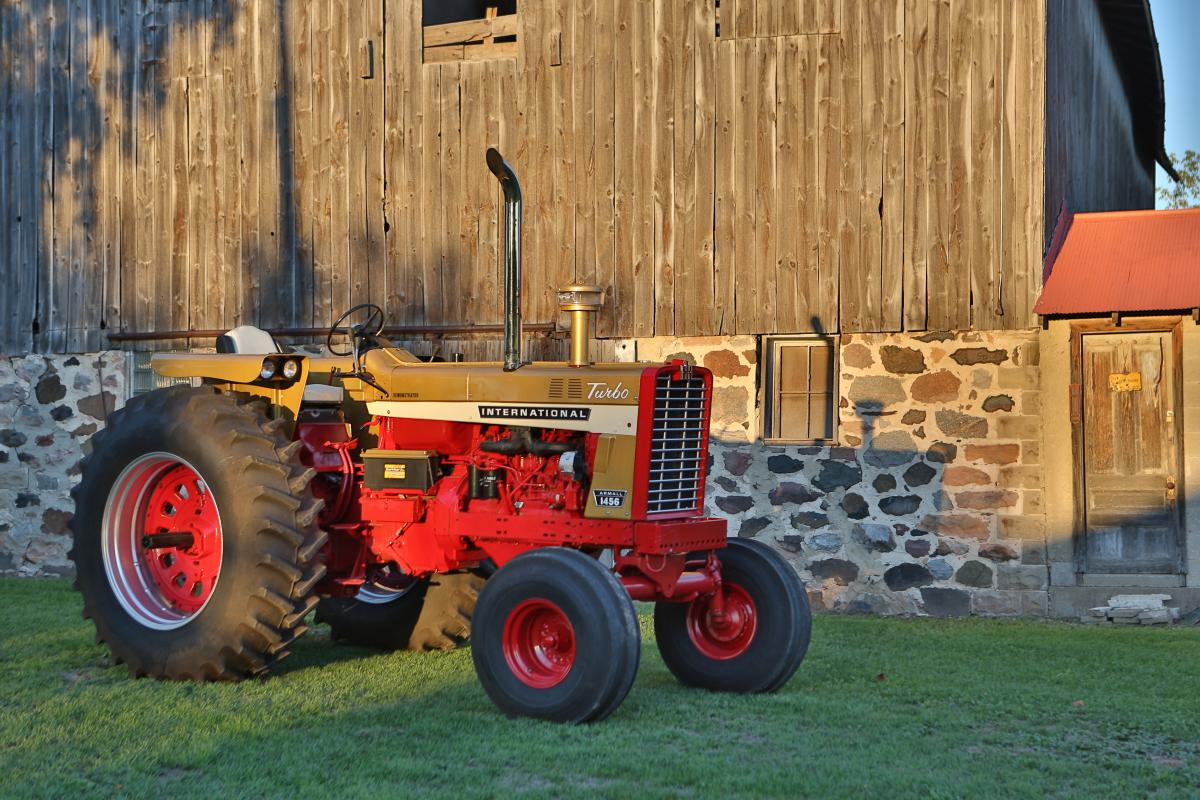 Ih 1456 Tractor : Ih demonstrator octane press