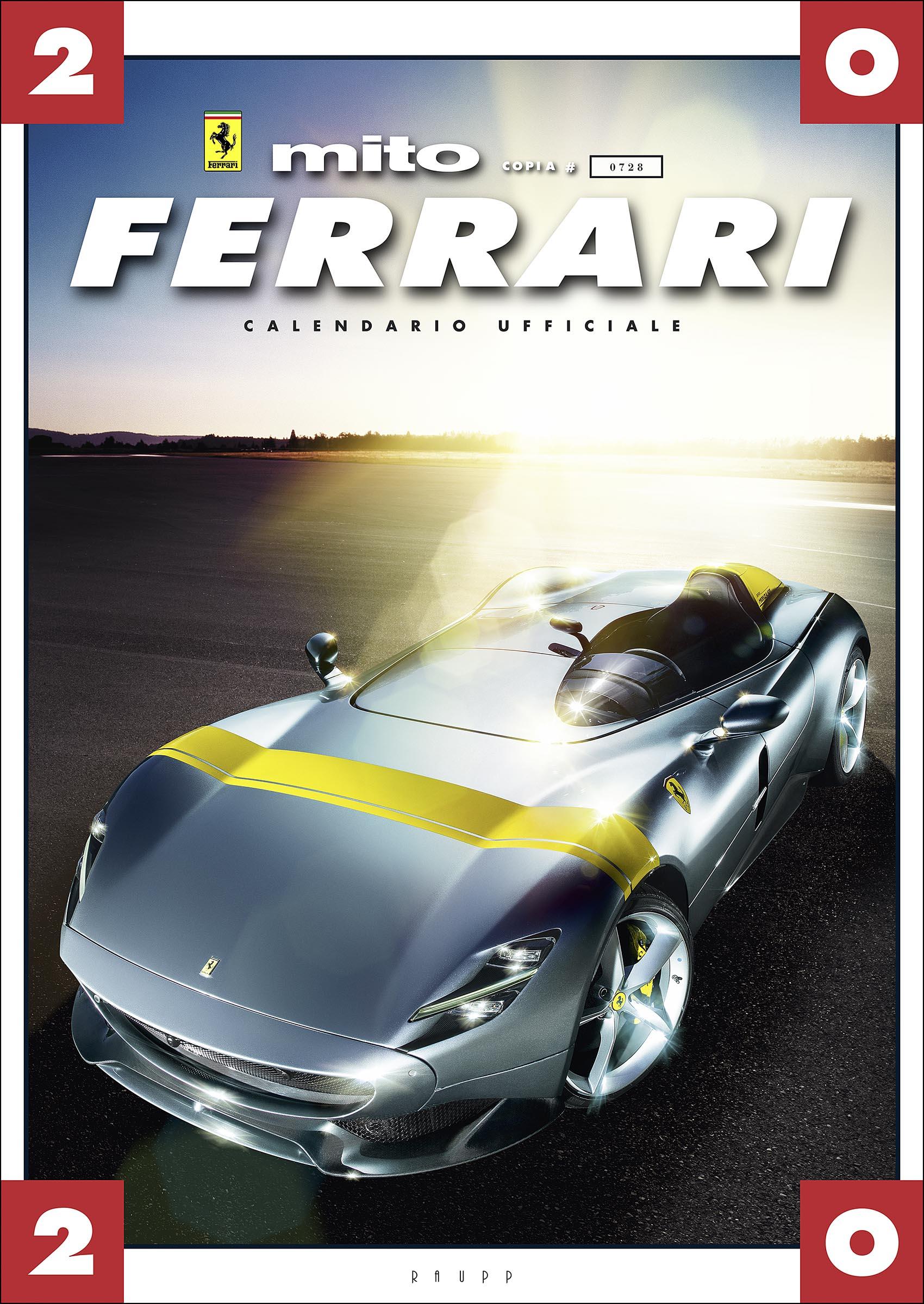 Calendario 365 2020.Ferrari Myth Collectors Edition Calendar 2020 Octane Press