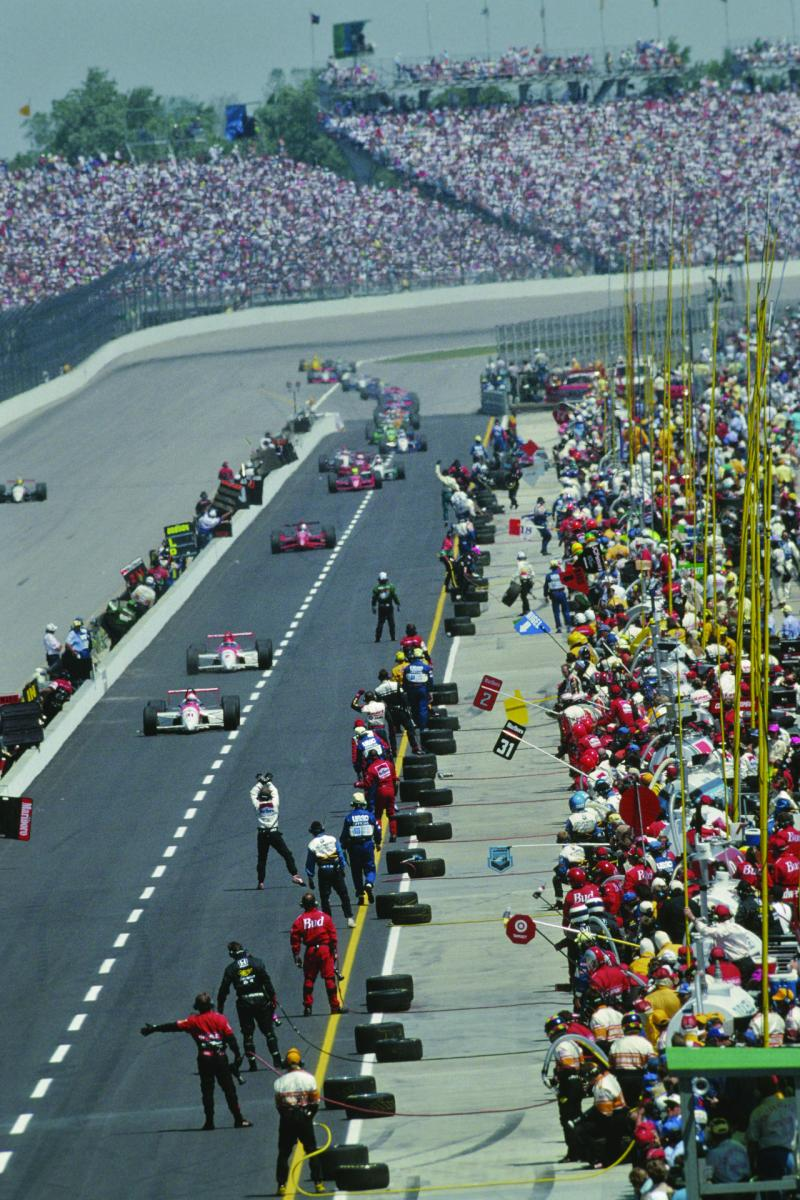Image of the Indy 500 Speedway
