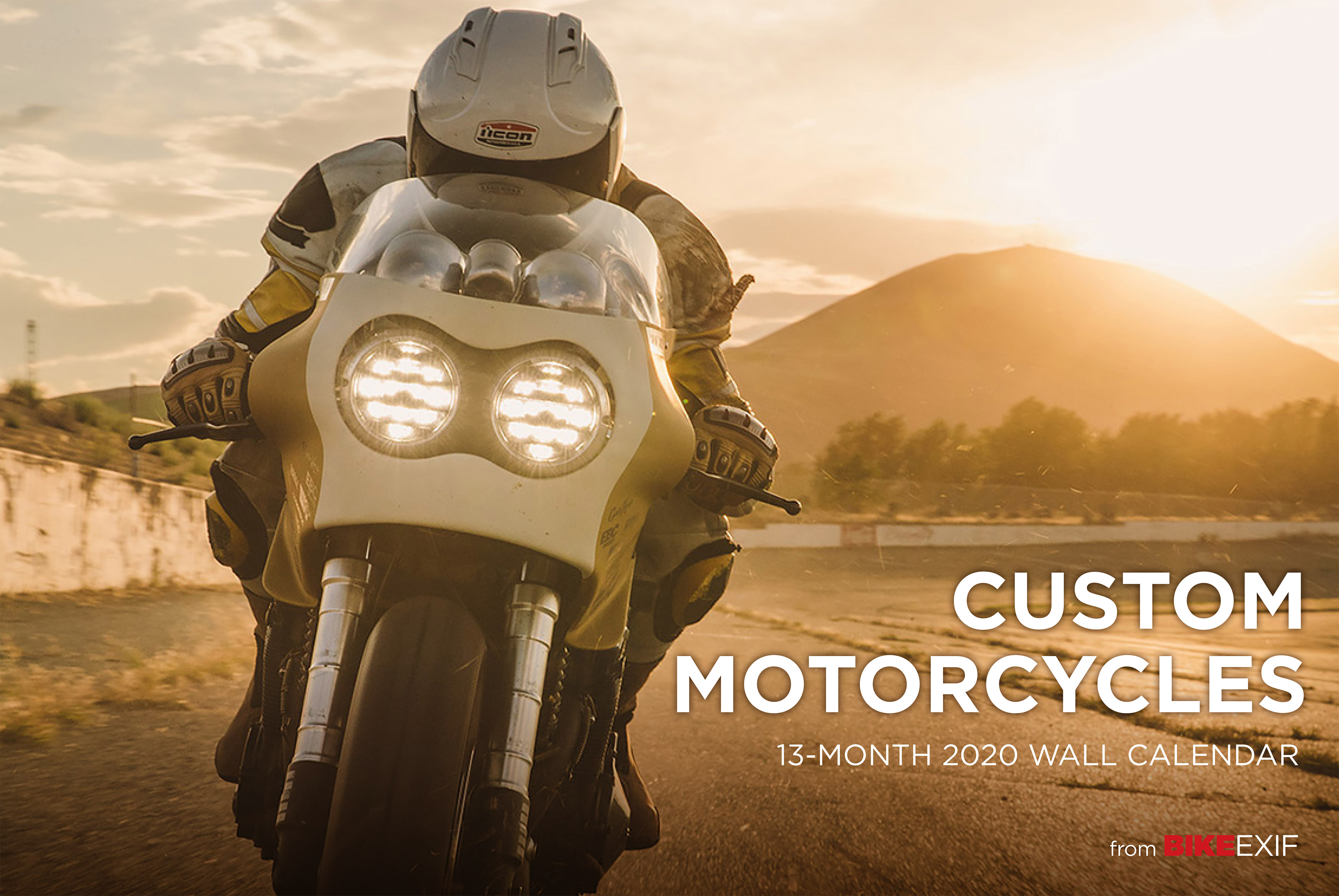 Motorcycle Calendar 2020 Custom Motorcycles Calendar 2020   Octane Press