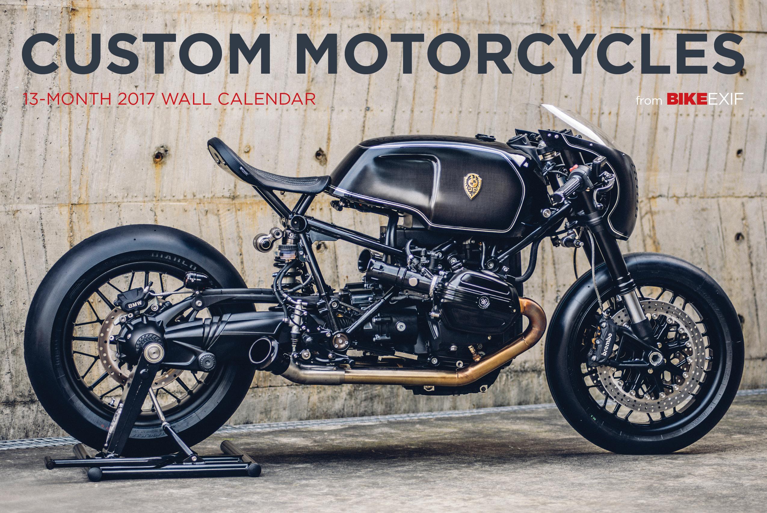 Motorcycle Custom: Bike EXIF Custom Motorcycle Calendar 2017