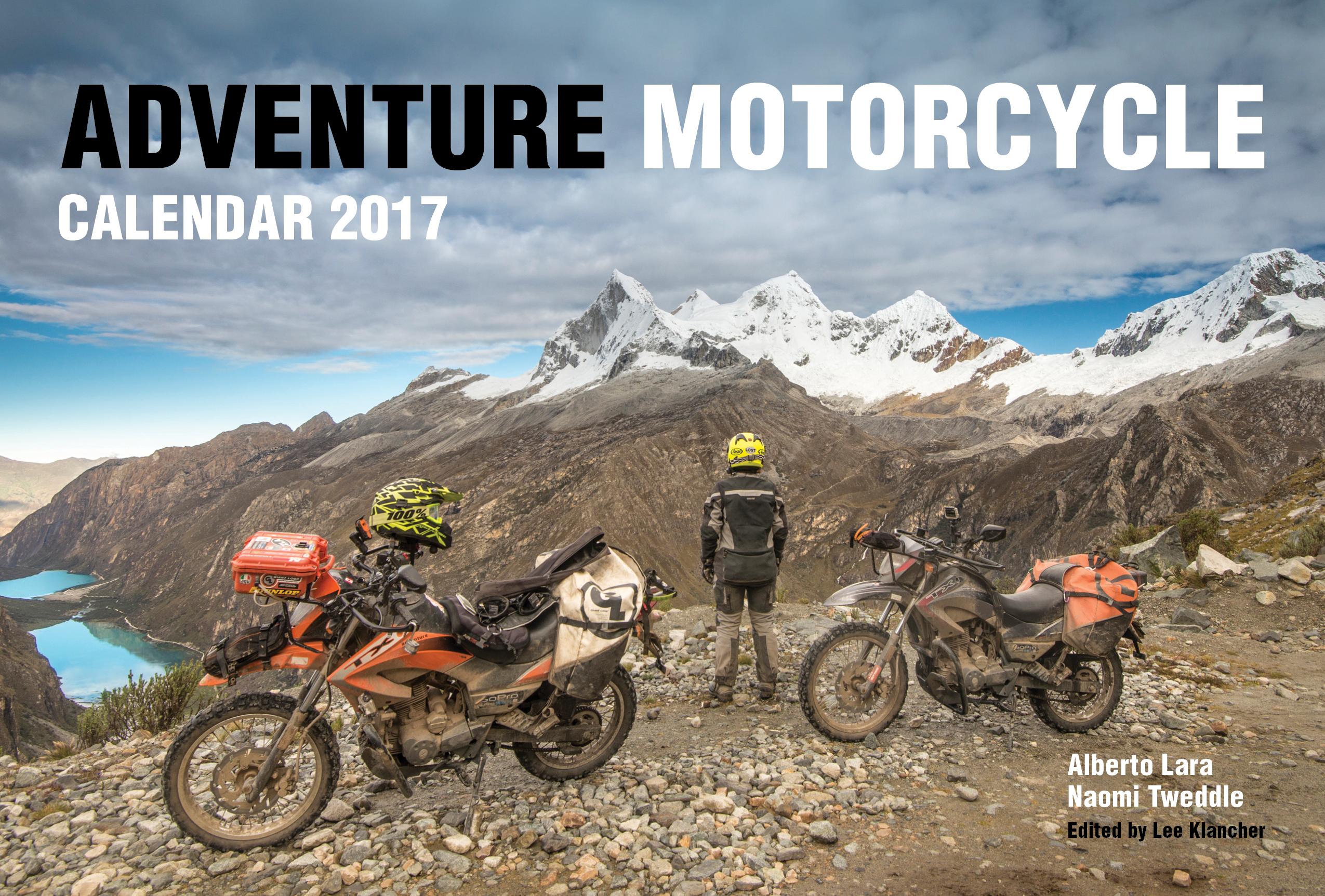 Adventure Motorcycle Calendar 2017 Octane Press