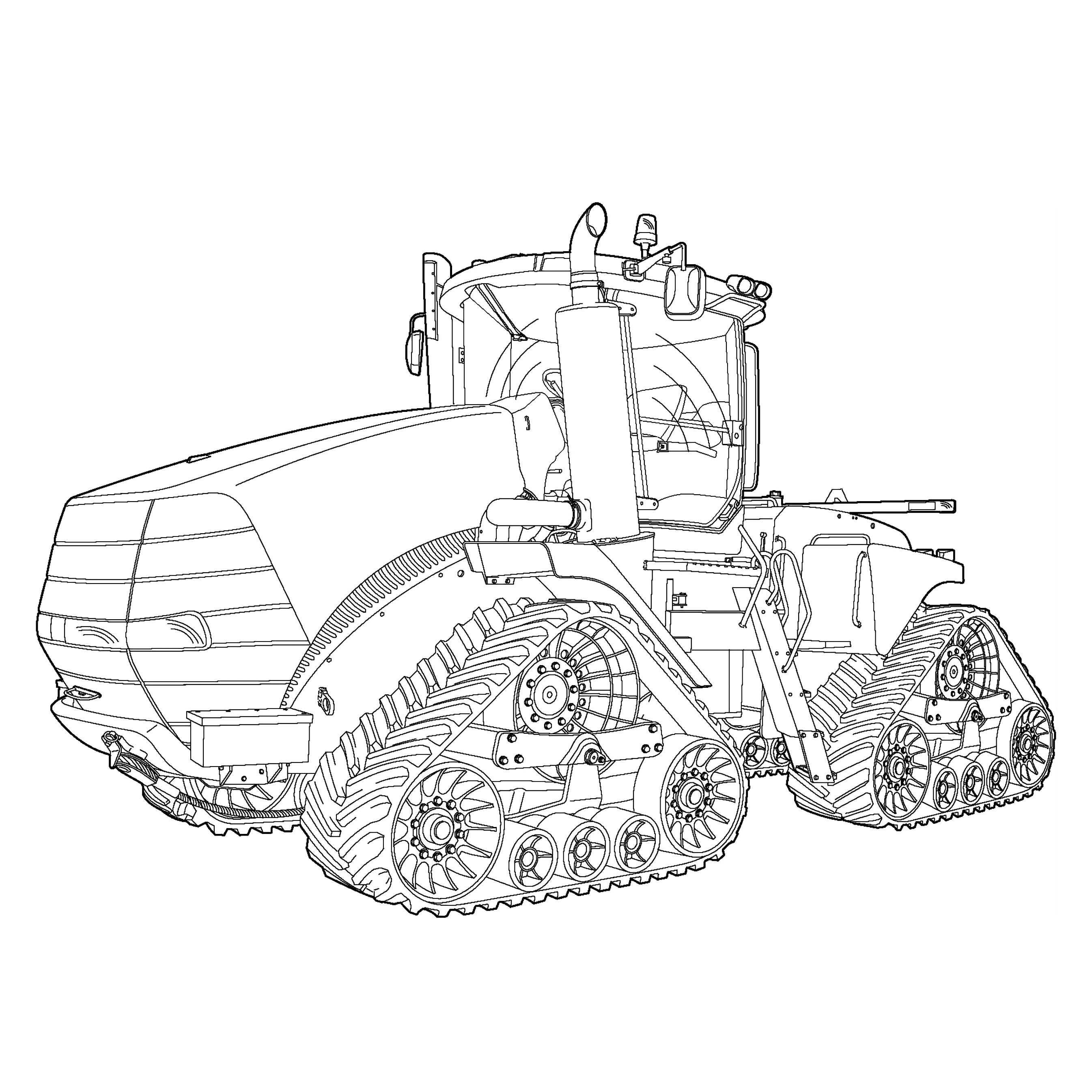 case international tractors coloring pages - photo#7