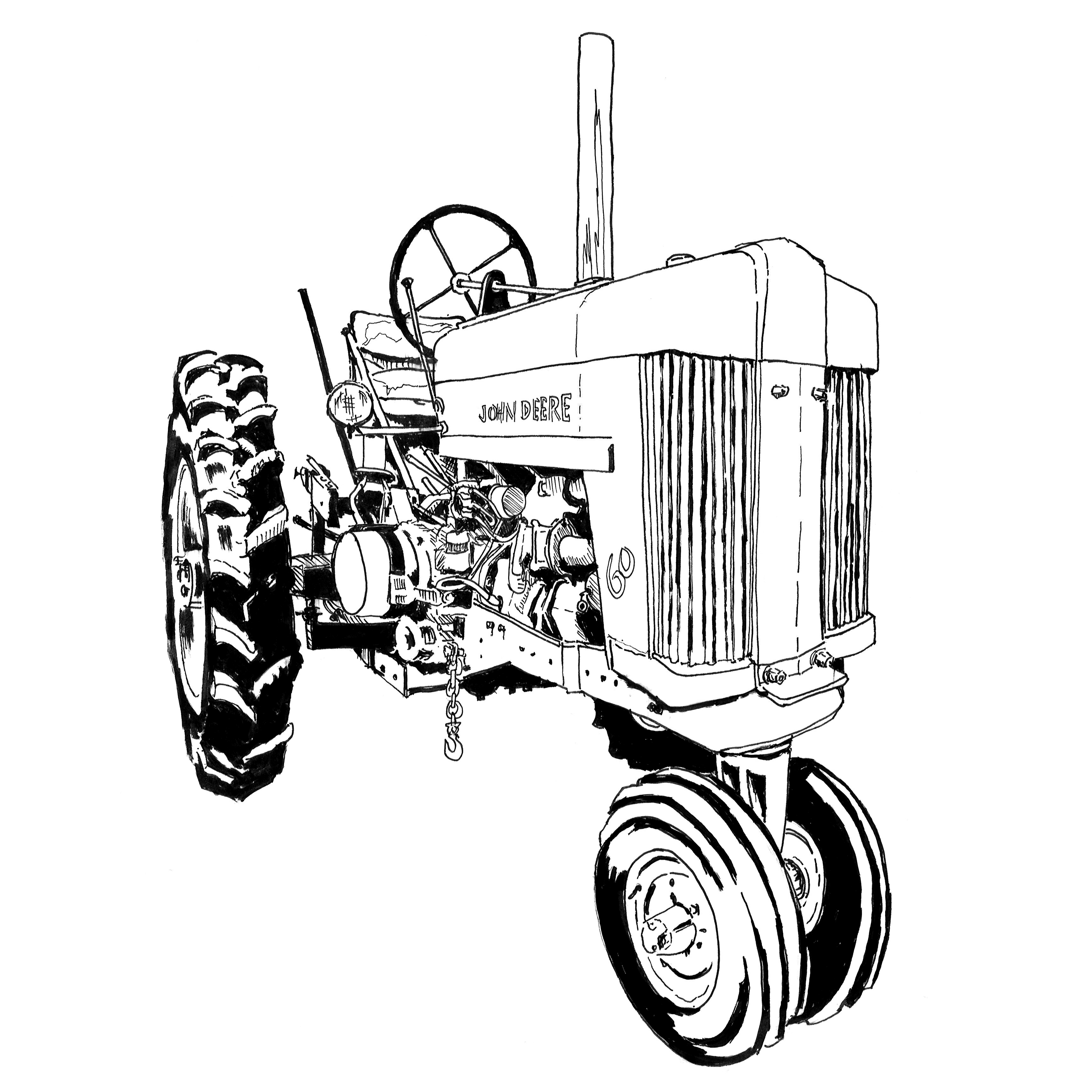 Coloring Pages Farmall Tractors. Quantity Art of the Tractor Coloring Book  Octane Press