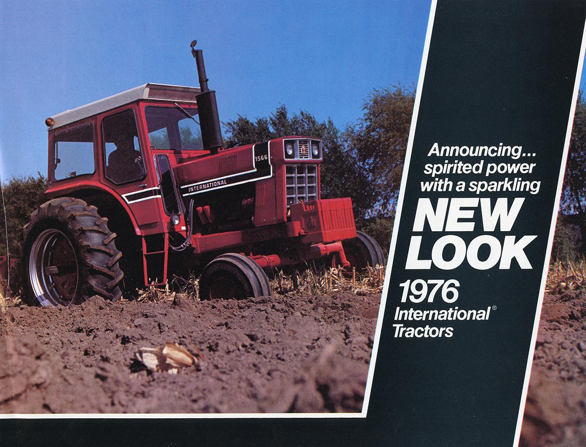 DECAL SET For Case//International Harvester 1486 TRACTOR