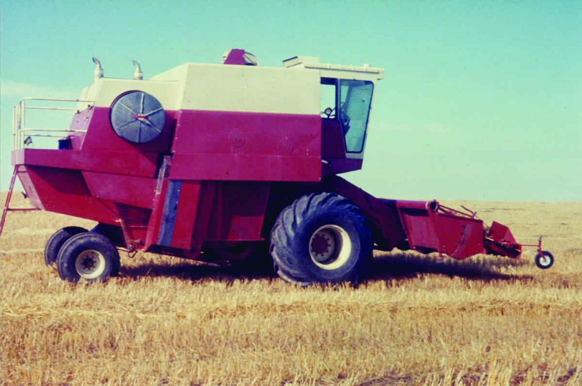 Image of a combine