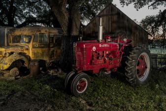 Endangered Tractors, Busted Knuckles & Barber Chairs